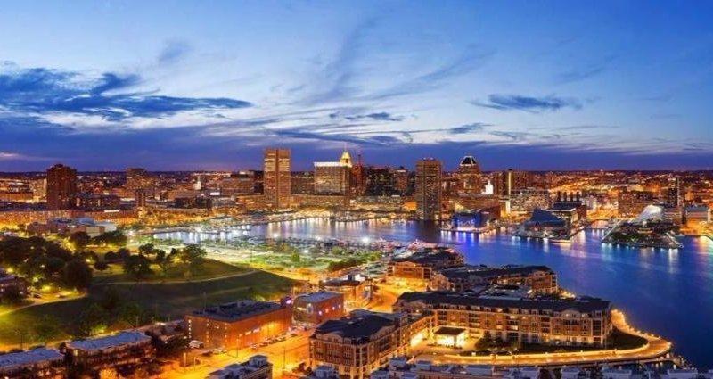 Inner Harbor. Baltimore, MD